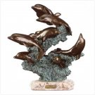 #27251 Leaping Dolphins Sculpture