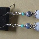 BLUELACE AGATE & SODALITE Gemstones Earrings