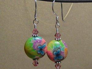 BUTTERFLY Polymer Clay Earrings - KM