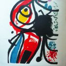 Joan MIRO Original Lithograph Signed and Numbered 65/150 , Art