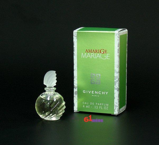 Mini Miniature Perfume AMARIGE MARIAGE Givenchy EDP 4ml