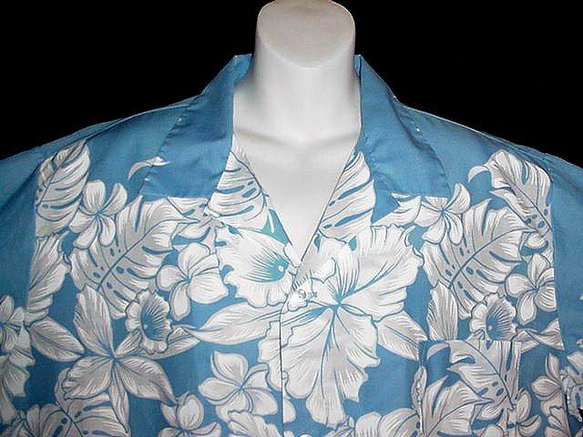 AUTHENTIC RARE Vintage 60's HAWAIIAN Shirt AIKANE HAWAII Aloha AMAZING NEVER WORN Condition L-XL!