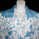 AUTHENTIC RARE Vintage 60's HAWAIIAN Shirt AIKANE HAWAII Aloha AMAZING NEVER WORN Condition L-XL!