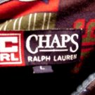 CHAPS 1996 Long Sleeve Shirt RALPH LAUREN Deep Rich Colors 96 CRL 100% Cotton Men's ~ L!