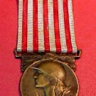 Great French World War 1 Medal Croix du Combattant Original Condition