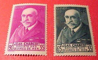 France set B68-B69 SP 29 Jean Baptiste Charcot 1938-39