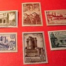 France Scott complete set #342-347 A82a-A87 M/NH/OG