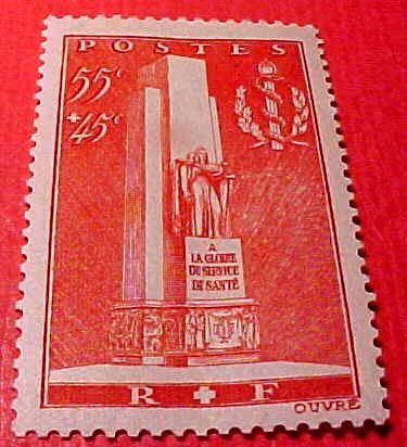 """France B73 SP32 """"Monument"""" May 25,1938"""