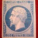 France Scott #15 A3 II Empire Napoleon III M/LH/OG