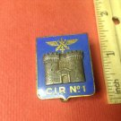 Vintage Enameled French Militaire pin by Drago G1188