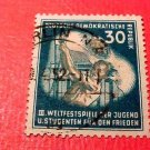 "German Democratic Republic Scott's #87 A20 30pf ""Youth Festival""Aug.3,1951 used"