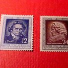 "German Democratic Republic Scott's set #96&97 A26"" Beethoven"" Mar.26,1952"