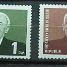 "German Democratic Republic Scott's set #120a-21 A35""Pres Wilhelm Pieck"" 1953"