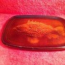 St.Clement Majolica Fish Platter