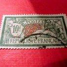 France Scott #131 A18 10fr green & red Canceled