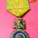 """French World War 1 Medal of """" Valeur et Discilpline""""."""