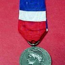 "French Silver Medal of Honor ""Ministere des Affaires Sociales"" 1972"