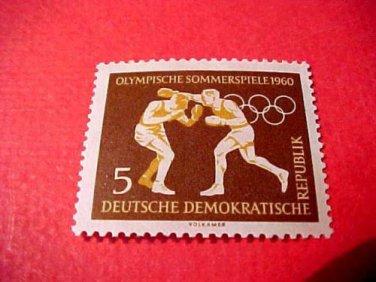 "German GDR Scott's 488 A157 ""Boxing"" Jan.27,1960"