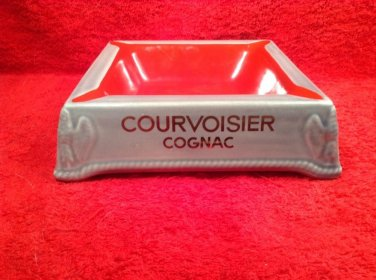 Vintage Courvoisier Cognac Napoleon version Ashtray Made in France by Orchies