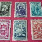 France set B167-B172 SP121 M/HN/OG Dec.27,1943
