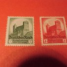 "German Scott's #442-443 ""Hindenburg Memorial Issue"" 1932 type Sept.1,1934"