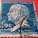 France Scott set #195 A23 Louis Pasteur 1926