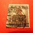 Saar Stamp # 66 A16, 5m on 15