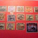 Saar Stamp set(s) #85-98 M/H/OG