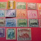 Saar Stamp set(s) #99-116 M/LH/OG