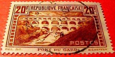 France Scott #254a A40 Die #3 1931 Canceled