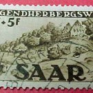 Saar Stamp B65- SP34 Jugendherbergswerk 8f+5f