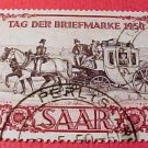 Saar Stamp Scott #B76 SP39 Apr 22,1950 Stamp Day