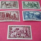 Saar Stamp Set Scott #B77 SP40 Nov,1950 M/NH/OG