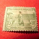 "France B5 SP5 1917-1919 ""Woman Plowing""15c+10c"