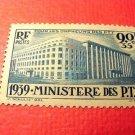 "France B83 SP42 'Ministry of Post"" April 8,1939"