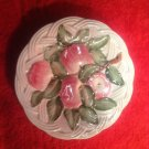 Vintage Majolica Italian Apples and Leaves Plate By San Marco