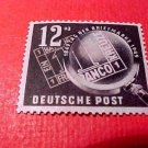 "German GDR Scott's # B14 SP4 ""Stamp Day"" Oct.30,1949"