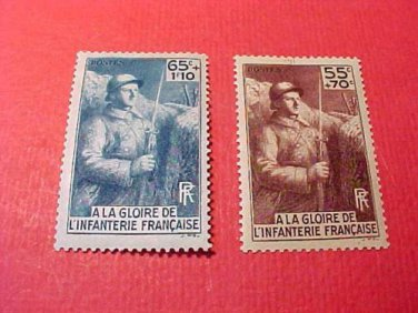 """France B71 & B72 SP31 """"French Soldier"""" May 16,1938"""