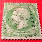 France Scott #24 5c A3 Empire Napoleon Canceled