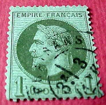 France Scott #29 1c A4 Empire Napoleon Canceled