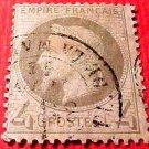 France Scott #31 4c A4 Empire Napoleon Canceled