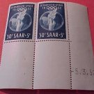 Saar Stamp set Scott #B90 SP44 Mar 29,1952 M/NH/OG