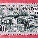 France Scott #679 A221 Assembly Hall Strasbourg 1952