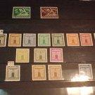 "German Scott's #S1-S11 F1 Franchise Stamps ""Party Emblem"" 1938 Full set"