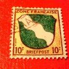 German Scott's #4N5 OS3 French Occupation 1945-1946