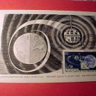 France Scott #1048 A395 First Day Postcard(s) Space Communications Sept.29,1962