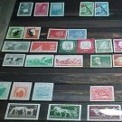 "German GDR Scott's #370-396 A113 & A124 ""In Order from Scott Catalog"" 1957-1958"