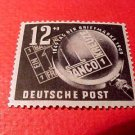 "German GDR Scott's Russian Zone #B14 SP4 ""Bavaria No.1""Oct. 30,1949"