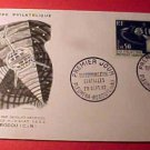 France Scott #1048 A395 First Day Cover Space Communications Sept.29,1962