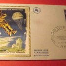 France Scott #1250 A520 First Day Cover Parachutists over Normandy May 31,1969